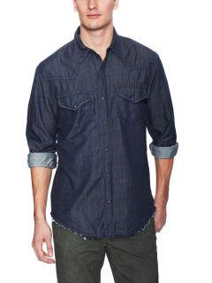 Bronco Denim Western Shirt by Stitchs