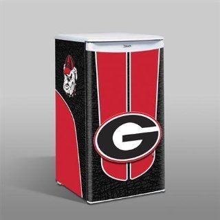 NCAA Georgia Bulldogs Compact Refrigerator, 3.2 Cubic Feet: Sports & Outdoors