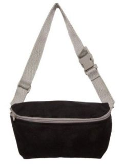 American Apparel Nylon Cordura� Fanny Pack   Black / Silver / One Size Apparel Accessories Clothing