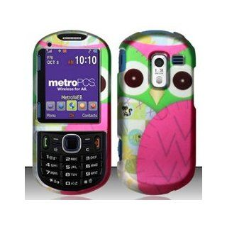 4 Items Combo For Samsung Messager 3 R570 / R455C Colorful Owl Design Hard Case Snap On Protector Cover + Car Charger + Free Opening Tool + Free Magic Soil Crystal Gift 9789866033308 Books