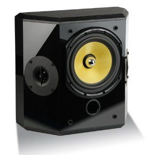 Crystal Acoustics THX� Select Certified THX D Bipolar pair of surround speakers  Black Electronics