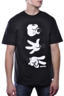 Booger Kids RPC Classic Disney Mickey Mouse Hands Tee Shirt Streetwear Top Large Clothing