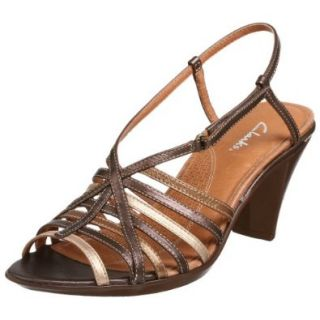 Clark's Women's Edith Slingback Heel, Bronze, 10 M: Shoes