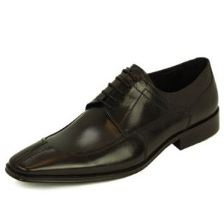 Natazzi Mens Leather Shoe Dress Lace Up Oxford Model Parma L 3040 Black: Shoes