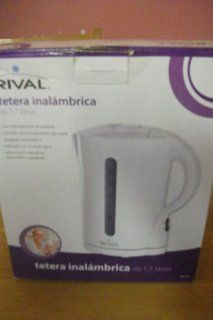 Rival 1.7 Liter Cordless Kettle: Electric Kettles: Kitchen & Dining