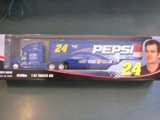 Jeff Gordon #24 Pepsi GMAC Dupont Lays Hauler Tractor Trailer Transporter Semi Rig Truck 1/64 Scale Winners Circle 2004 Edition: Toys & Games