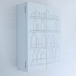 inside out double door bathroom cabinet by authentics