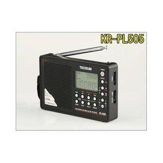All band pl505 high sensitivity receiver / AM / FM Shortwave Radio Tecsun (body color: Silver) [Japanese] Operation Manual: Electronics