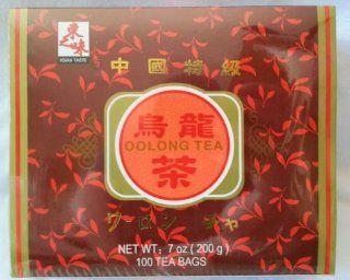 Oolong Tea Box (100 Tea Bags)   7 Oz.  Grocery Tea Sampler  Grocery & Gourmet Food