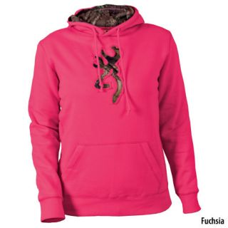 Browning Womens Buckmark Camo Pullover Hoodie 449081