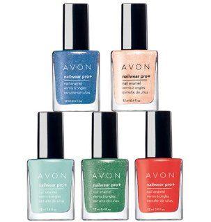 Avon Nailwear Pro+ Nail Enamel (Serene Green)  Nail Polish  Beauty