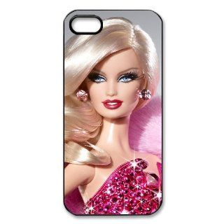 Barbie Doll Personalized Hard Plastic Back Protective Case for iPhone 5S/5 Electronics