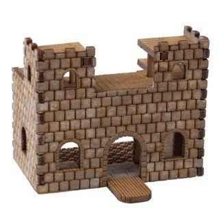 Dollhouse Miniature Mini Castle Kit: Toys & Games
