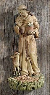 "Joseph's Studio Saint Francis Bird Feeder Garden Figure Statue 13""  Patio, Lawn & Garden"