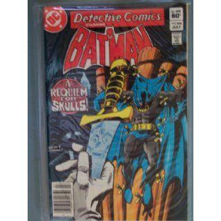 Detective Comics Starring Batman; A Requiem for Skulls (Vol. 47 No. 528, July 1983) Books