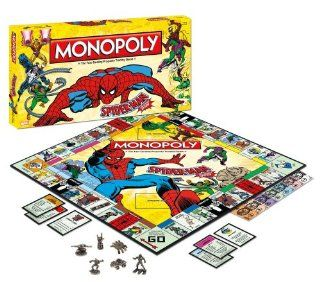 Monopoly: Spider Man Collector's Edition: Toys & Games