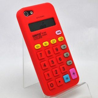 Cool 3D Protective Calculator Style Silicone Case For Iphone 5 ItemI & Get Free Screen Film: Cell Phones & Accessories