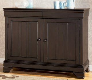 Shop Black Dining Room Buffet   Signature Design by Ashley Furniture at the  Furniture Store