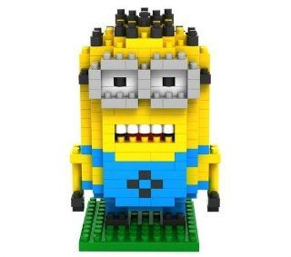 Fu's store Parent child games Minion Dave in Despicable Me 2 Building Blocks Children's Educational Toys: Toys & Games