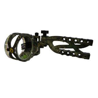 Trophy Ridge Cypher 5 Pin .019 Micro Adjust Bow Sight, Camo  Archery Sights  Sports & Outdoors