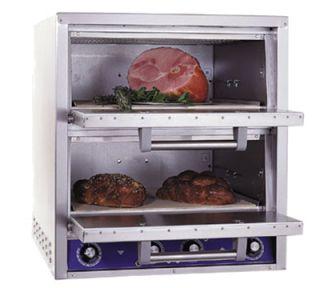 Bakers Pride Electric Double Deck Countertop Pizza/Pretzel Oven, 208/1v