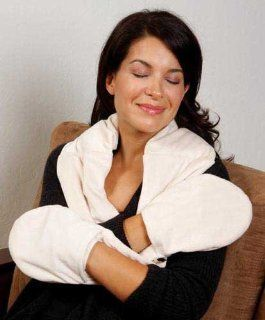 Bed Buddy Naturals Plush Neck & Hand Wrap (Catalog Category Hot & Cold Therapy / Heating Pads) Health & Personal Care