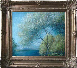 Claude Monet   Antibes, View Of Salis 1888 Hand Painted Framed Oil Painting On Canvas