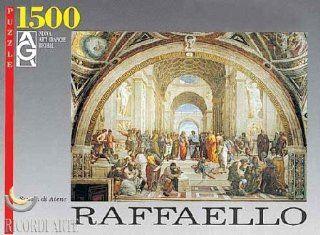 Raffaello Scuola Di Atene Jigsaw Puzzle 1500pc Toys & Games