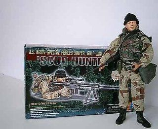 "1/6 Scale Dragon Models "" Scud Hunter "" US Army Special Force Sniper "" Greg "": Toys & Games"