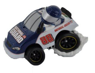 Authentic NASCAR Dale Earnhardt, Jr., #88, Collectible Ornament (Choice of Style) (National Guard Burnout Dale Jr. (Blue and White)): Automotive