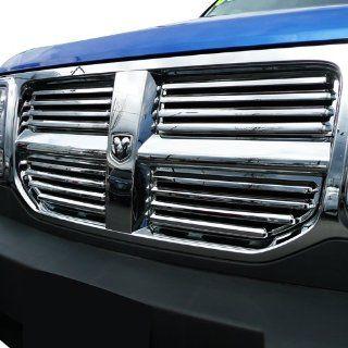 "2007 2011 Dodge Nitro Chrome Grille ""Factory Style"" Grille Automotive"