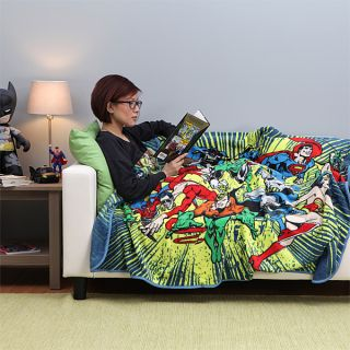 Justice League Fleece Blanket