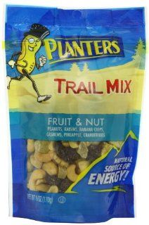Planters Trail Mix, Fruit & Nut, 6 Ounce Bags (Pack of 12) : Trail Mix Fruit And Nut : Grocery & Gourmet Food