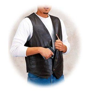 Concealed Carry Vest   Leather  Sporting Goods  Sports & Outdoors