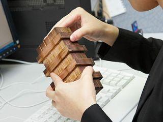 Puzzling Wood Gift Box