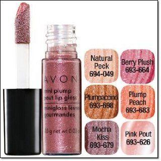 Avon Mini Plump Pout Lip Gloss Plumpaccino  Lipstick  Beauty