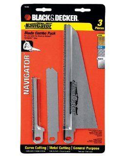 Black & Decker 74 598 Navigator Combo Set, 3 Piece   Power Jig Saw Accessories