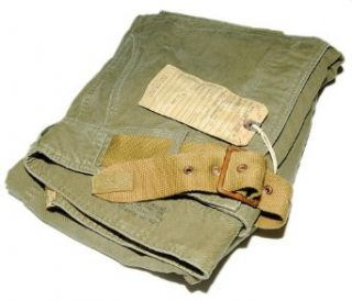 Ralph Lauren RRL Men Cargo Vintage Khaki Green Brown Belted Pants USA 29/30 at  Men�s Clothing store