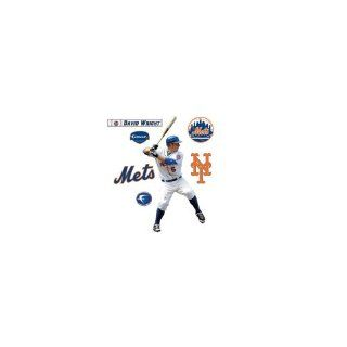 MLB New York Mets David Wright Fathead Junior Wall Decal  Sports Fan Wall Banners  Sports & Outdoors