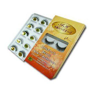 AK Eyelash Authentic Japan 100% Handmade False Fake Eyelash AK 609 (5 Pair in Box) : Fake Eyelashes And Adhesives : Beauty