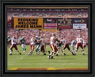 Washington Redskins NFL Personalized Stadium Scoreboard Photo  Sports Fan Photographs  Sports & Outdoors