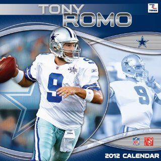 Tony Romo 2012 Wall Calendar  Sports Fan Daily Appointment Books And Planners  Sports & Outdoors