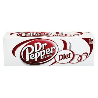 Dr. Pepper Diet Soda 12 oz, 12 pk
