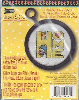 Mary Engelbreit Counted Cross Stitch Kit   Home