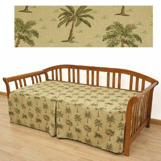 Desert Palm Tree Washable Daybed Cover Twin 622   Bed Covers