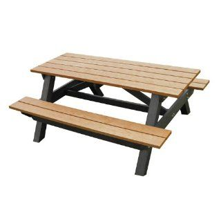 Polly Products Recycled Plastic Youth Picnic Table 5'