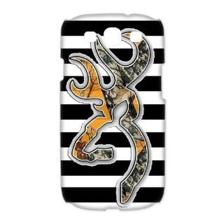 Custom Browning 3D Cover Case for Samsung Galaxy S3 III i9300 LSM 643: Cell Phones & Accessories