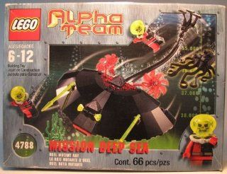 Lego 4788 Alpha Team Mission Deep Sea 66 pieces: Toys & Games