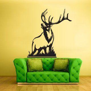 Wall Vinyl Sticker Decals Decor Art Bedroom Design Deer Elk Buck Animal (Z1492)