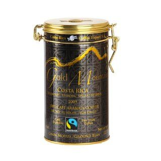 Costa Rica Coffee Export Gold Mountain, 8 Ounce : Ground Coffee : Grocery & Gourmet Food